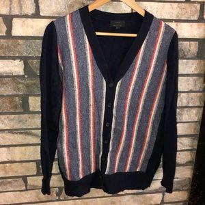 Wool/Cashmere blend J. Crew Cardigan